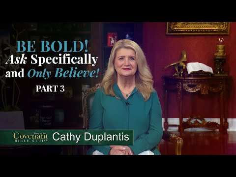 Voice of the Covenant Bible Study, April 2021 Week 3  Cathy Duplantis