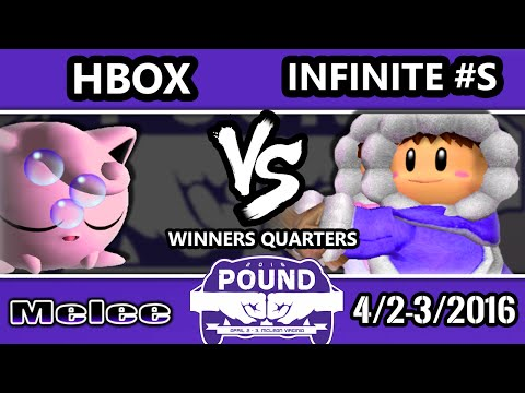 Pound 2016 - Infinite Numbers (Ice Climbers) Vs. Hungrybox (Jigglypuff) - Winners Quarters - SSBM - default