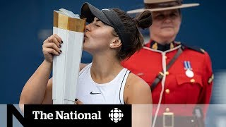 How Bianca Andreescu's Rogers Cup win is inspiring young players