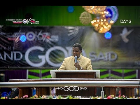 PASTOR E.A ADEBOYE SERMON AUGUST HOLY GHOST SERVICE  AND GOD SAID - HD