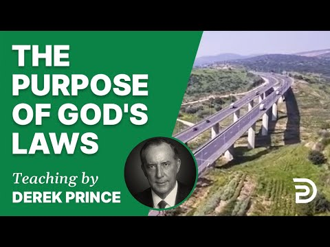 The Purpose of God's Laws 15/1