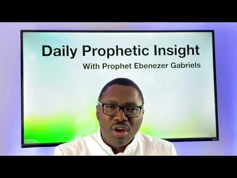 Prophetic Insight Feb 21st, 2021