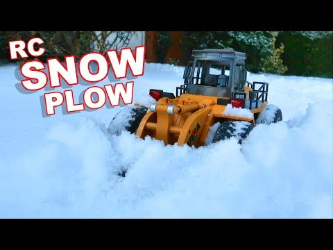 $30 AWESOME RC Snow Plow - Huina Toys 1586 - TheRcSaylors - UCYWhRC3xtD_acDIZdr53huA
