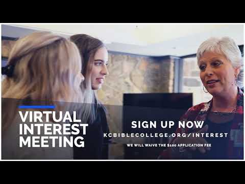 Interested in Bible College? FREE Virtual Interest Meeting May 2, 2020
