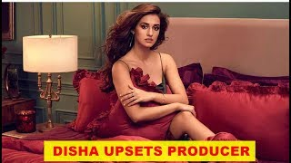 Is Disha Patani's on-set behaviour worrying the producers?