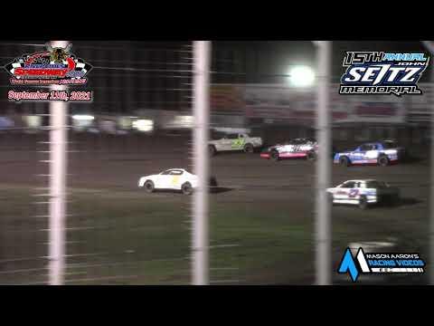 River Cities Speedway WISSOTA Street Stock A-Main (15th Annual John Seitz Memorial) (9/11/21) - dirt track racing video image