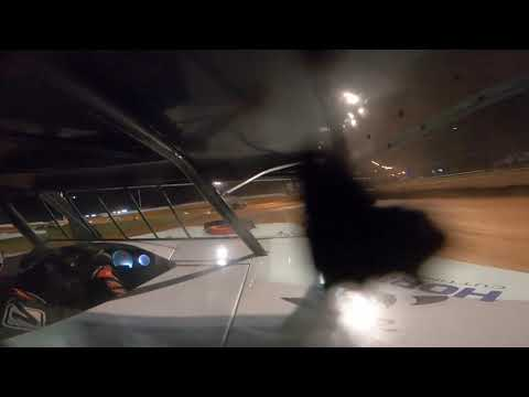 Red Dirt Raceway Sport Mod/B-Mod Heat Race #2 10/16/2021 Alex Wiens #10 GoPro - dirt track racing video image
