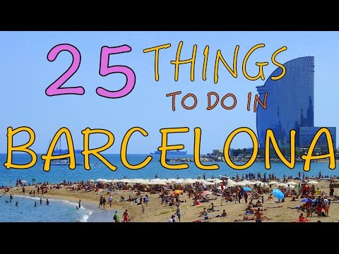 25 Things to do in Barcelona, Spain | Top Attractions Travel Guide - UCnTsUMBOA8E-OHJE-UrFOnA