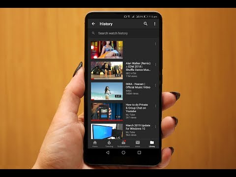 How to Clear All Youtube Watch History in Android Phone