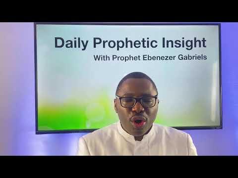 Prophetic Insight  Feb 8th, 2021
