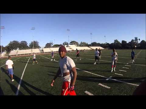 Tackle Football Game Filmed w/ Gopro Hero 3 White Ed. - 720p 60fps