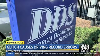 Coweta County DDS mistakenly informing drivers
