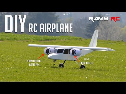 Designing and building new RC airplane from scratch by RAMY RC - UCaLqj-d_p8iuUfda5398igA