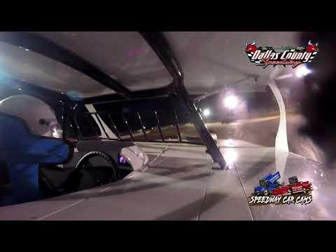 #42C Casey Thomas - USRA B Mods - 6-18-2021 Dallas County Speedway - In Car Camera - dirt track racing video image