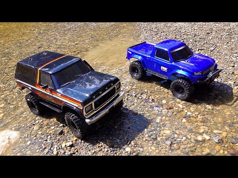 RC ADVENTURES - NEW DRIVER MOE's 2nd Trail Run with DAD!  Bronco and Ranger..  Traxxas TRX4 - UCxcjVHL-2o3D6Q9esu05a1Q