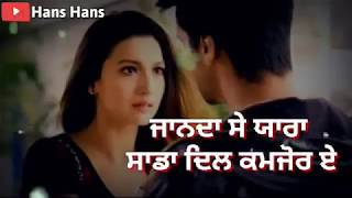 Download New Punjabi Sad Song Whatsapp Status Video   New