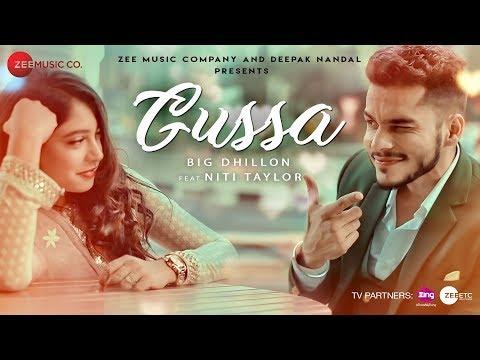 GUSSA LYRICS - BIG Dhillon   Punjabi Song 2018