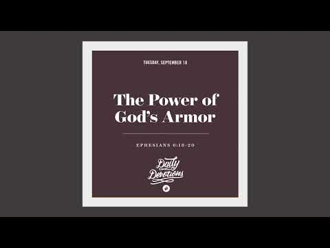 The Power of Gods Armor - Daily Devotion