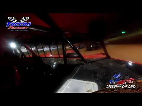 #11 Ricky Harvey - Limited Late Model - 9-5-21 Toccoa Raceway - In-Car Camera - dirt track racing video image