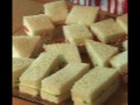 Tea Sandwiches: Come For Tea #3