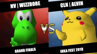 Inka Fest - ENVY | Wizzrobe (Yoshi) Vs. CLN | Alvin (Pikachu, Falcon) SSB64 Grand Finals