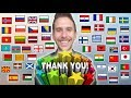 "How To Say ""THANK YOU!"" In 50 Different Languages"