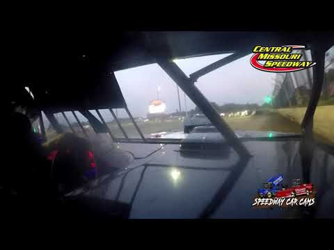 #88 Jimmy Dowell- A Modified - 7-4-2021 Central Missouri Speedway - In Car Camera - dirt track racing video image