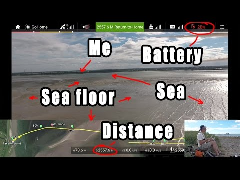 My €1500 quadcopter runs out of battery ABOVE the sea!! Can I still save it? - UCD7-sU6X6iO0VcqsMQovGxw
