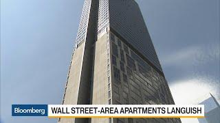 Wall Street-Area Apartments Linger Amid Market Glut