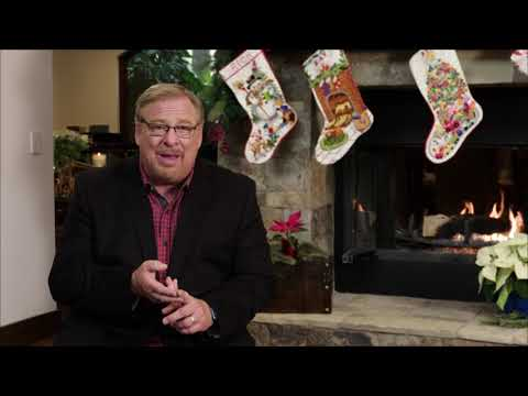 Pastor Rick Warren's Invitation to 2018 Christmas at Saddleback