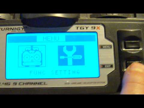 Turnigy 9X Stock Firmware 6 Position Switch for 6 Flight