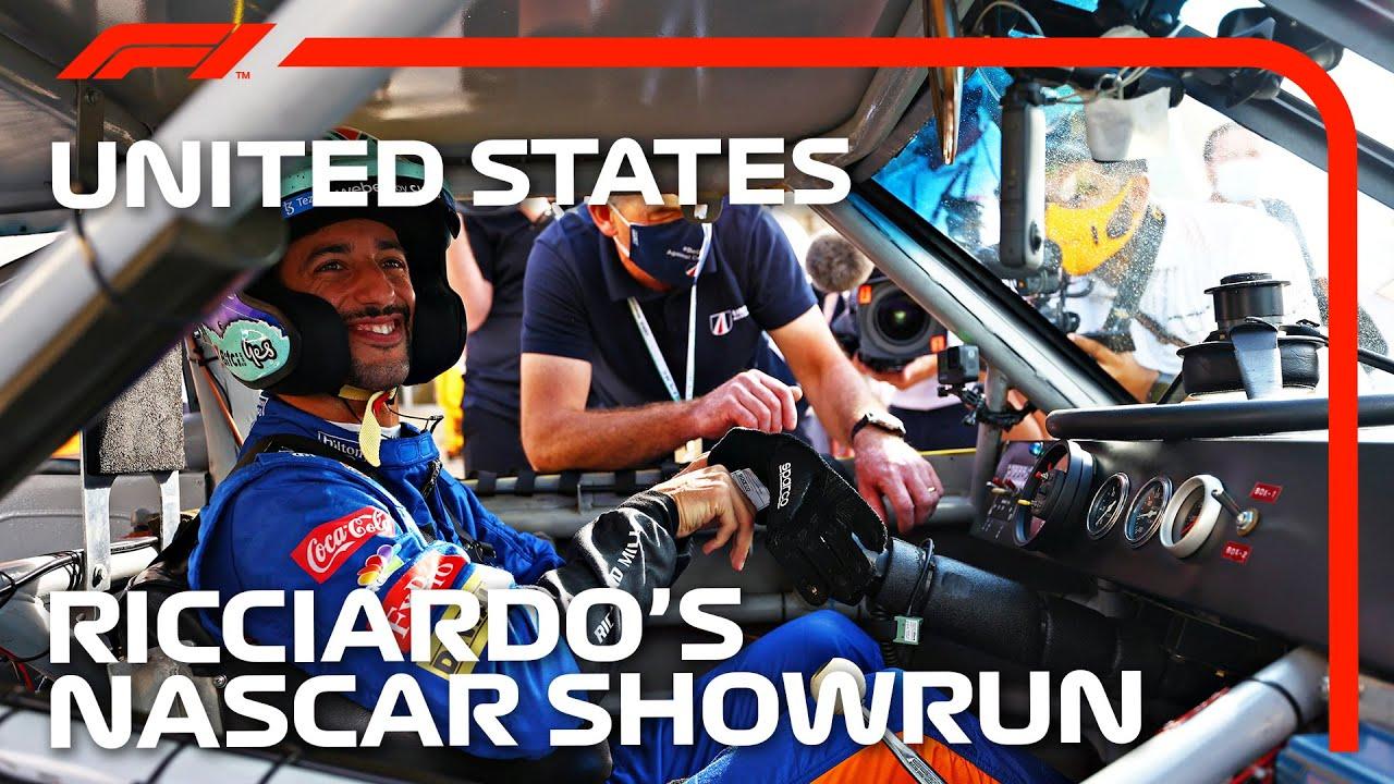 Daniel Ricciardo's NASCAR Dream Comes True!   2021 United States Grand Prix