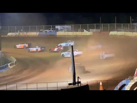 8/21/2021 Street Stock Cherokee Speedway - dirt track racing video image