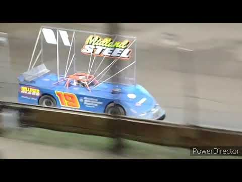 Outlaw Late Model A-Main - Crystal Motor Speedway - 9-5-2021 - dirt track racing video image