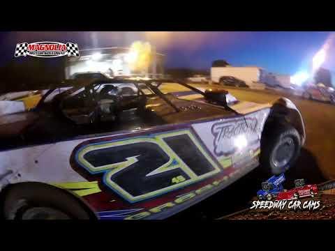 #21 Mario Gresham - 602 Sportsman - Magnolia Motor Speedway 5-30-21 - dirt track racing video image