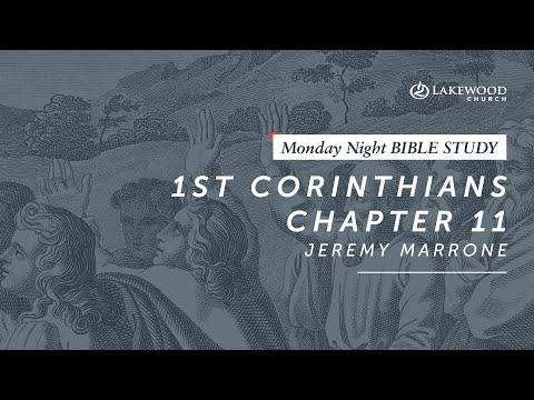 1 Corinthians 11  Jeremy Marrone (2019)