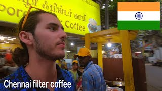 $0.20 Filter Coffee in INDIA | Chennai, Tamil Nadu