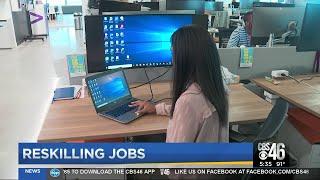 Company helps job seekers learn new skills