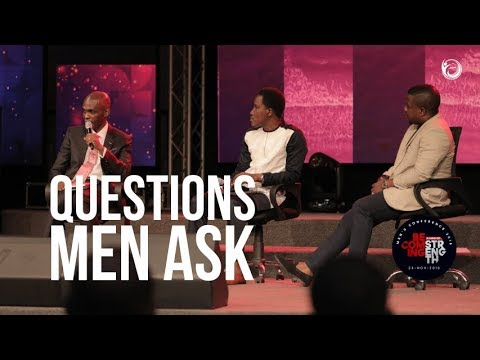 Insightful Questions and Answers from the Men's Conference 2018