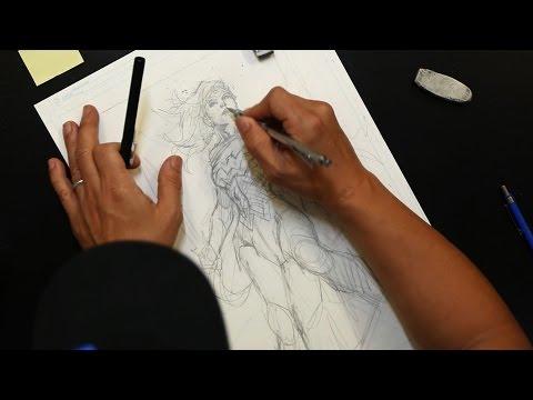 DC Comics' Jim Lee Talks Wonder Woman's Evolution & His Drawing Process - UCgRQHK8Ttr1j9xCEpCAlgbQ