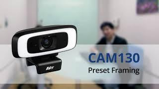 Quality video I CAM130 Preset Framing