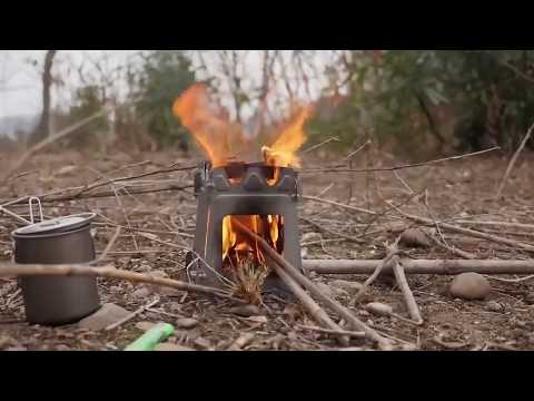 mini wood stove - Folding Lightweight for 2018