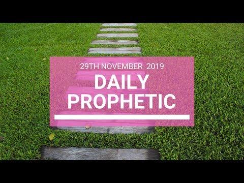 Daily Prophetic 29 November Word 6