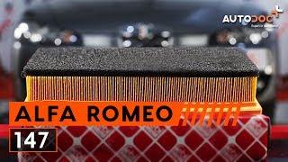 Cambiofiltro aria Alfa Romeo 147 Restyling
