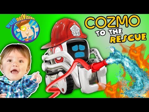 ROBOT SAVES BABY!! COZMO Playtime! Artificial Intelligence Super Computer FUNnel VisION Fun - UC4-eGDvOe41__-RiE0E9L6A