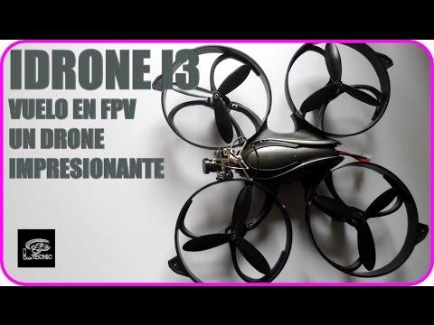 Idrone I3 con camara Fpv Mejor drone de iniciación vuelo exterior  Ltecnic - UCa1Q2ic8wDlT1WH7LSO_4Sg