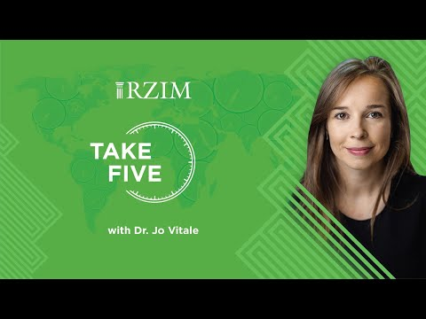 One of the last questions Jesus asked  Dr. Jo Vitale  TAKE FIVE  RZIM