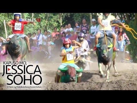 Kapuso Mo, Jessica Soho: Kakaibang karera ng kalabaw sa South Cotabato, kinaaaliwan! - UCj5RwDivLksanrNvkW0FB4w