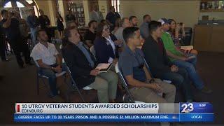 UTRGV Veteran students awarded scholarships