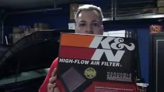 Sostituzione filtro aria KIA NIRO